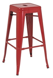 Signal Meble Long Bar Stool Red