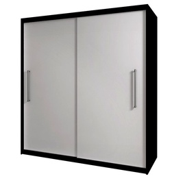 Idzczak Meble Rico 2D Wardrobe Sonama Black/White