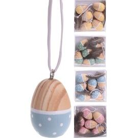 Декоративный сувенир, синий/желтый/зеленый/розовый/многоцветный/голубой/, 6 шт.