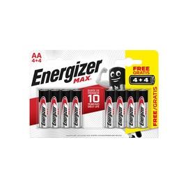 ELEMENTI ENERGIZER MAX LR6 AA 4 PLIUS 4