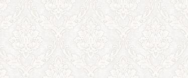 Vinilinis tapetas flizelino pagrindu  Stenova 88237 Patricio, baltas, sidabrinis, klasikinių raštų, 1.06 m