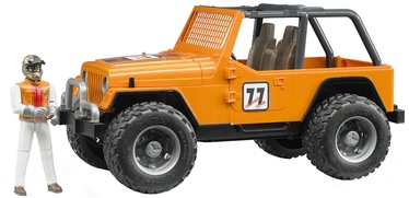 Bruder Jeep Cross Country Racing Racer Orange 02542
