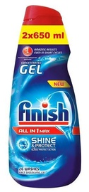 Finish All in 1 Max Shine & Protect Gel 2x650ml