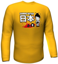 GamersWear Gaming Nation Longsleeve Yellow XXL