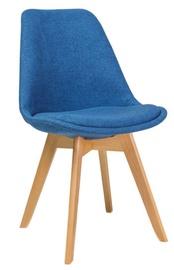 Ēdamistabas krēsls Signal Meble Dior Buk Blue, 1 gab.