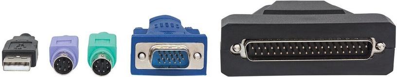 Intellinet 1-Port KVM Cable for KVM LCD Console 1.8m