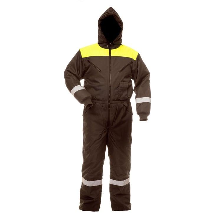 Baltic Canvas Bib-Trousers With Jacket Arctic FB-8906 XL