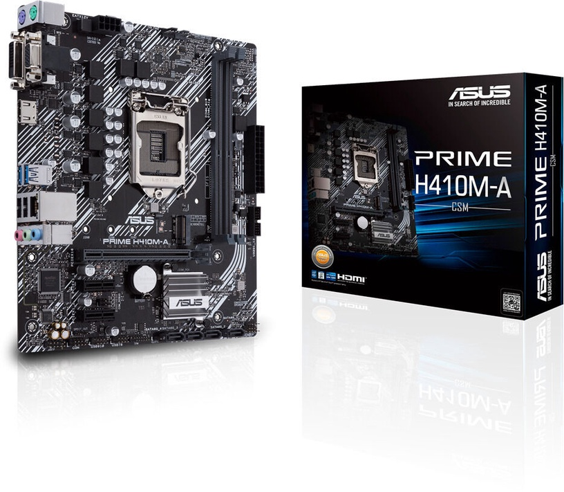 Mātesplate Asus Prime H410M-A/CSM