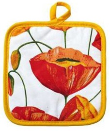 Asi Collection Kitchen Dish Grip Poppies