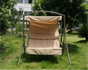 BESK Luksus rocking chair Brown
