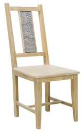Home4you Chair Ornament Light Brown 10112