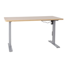 Kirjutuslaud Home4you Ergo Oak/Grey
