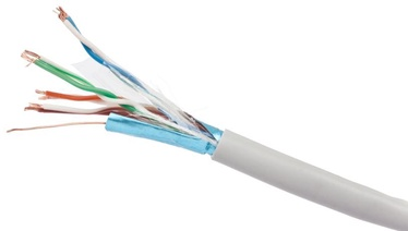 Gembird CAT 5e FTP/STP Cable Grey CCA 100m