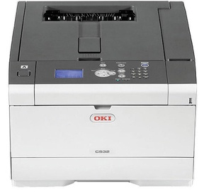 LED-printer Oki C532dn, värviline