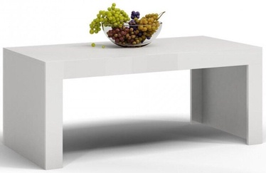 Kafijas galdiņš Top E Shop Deko D1, balta, 1200x600x500 mm