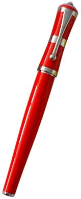 Fuliwen Roll Up Pen 2051C Red