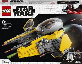 Конструктор LEGO Star Wars Джедайский перехватчик Энакина 75281, 248 шт.