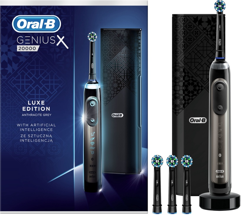 Braun Oral-B Genius X 20000N Lux Edition Black
