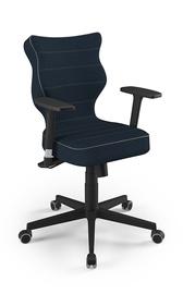 Biroja krēsls Entelo Nero Black TW24 Navy Blue
