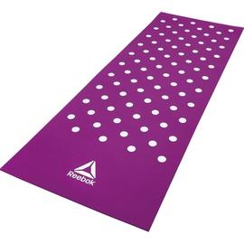 Vingrošanas matracis Reebok Spots, violeta, 173 cm x 61 cm x 7 mm