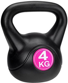 Avento Kettle Ball 4kg Black/Pink