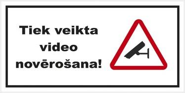 NORĀDE TIEK VEIKTA VIDEO NOVĒR.100X200