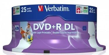 Verbatim 25x 8.5GB DVD+R 8x 43667