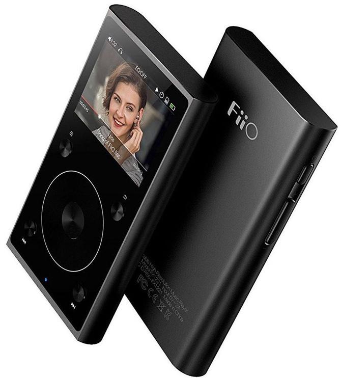Музыкальный проигрыватель FiiO X1, черный, - ГБ