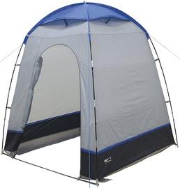 Vienvietīga telts High Peak Lido Shower 14012, zila/pelēka