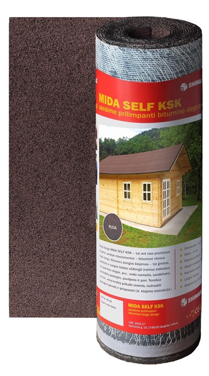 Покрытие Mida SELF KSK, коричневый