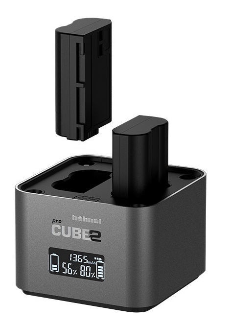 Hähnel ProCube 2 Charger For Nikon Grey