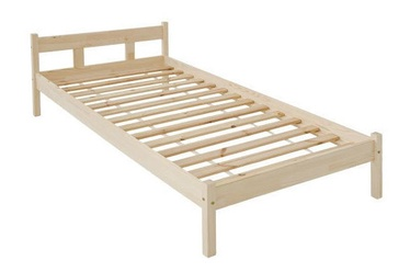 Black Red White Alice 90 Bed Pine