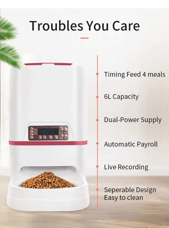 iPetDog Automatic Pet Feeder B3309