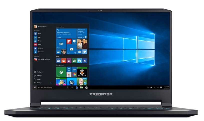 Ноутбук Acer Predator, Intel® Core™ i7, 16 GB, 512 GB, 15.6 ″