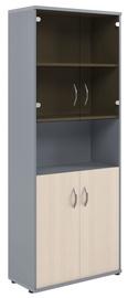 Skyland Imago Office Cabinet CT-1.4 Maple/Metallic