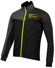 Force X110 Winter Jacket Unisex Black/Gray M