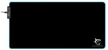 Коврик для мыши White Shark, 350 мм x 800 мм x 3 мм, черный