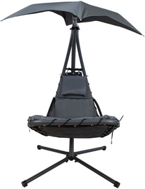 Dream Hanging Chair With Canopy Black