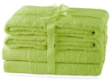 Rätik AmeliaHome Amari 23838, roheline, 140 cm x 70 cm, 6 tk