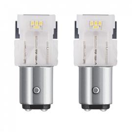 Automobilio LED lempa Osram 1458CW-02B, P21/5W (BAY15d), 12V, 6000K