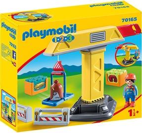 Playmobil 1-2-3 Construction Crane 70165