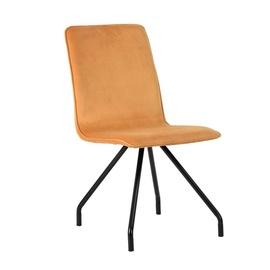 Valgomojo kėdė Linnea Velvet, oranžinė