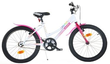 """Bimbo Bike 20"""" White Pink"""