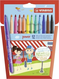 Stabilo Power Fibrepens 12pcs
