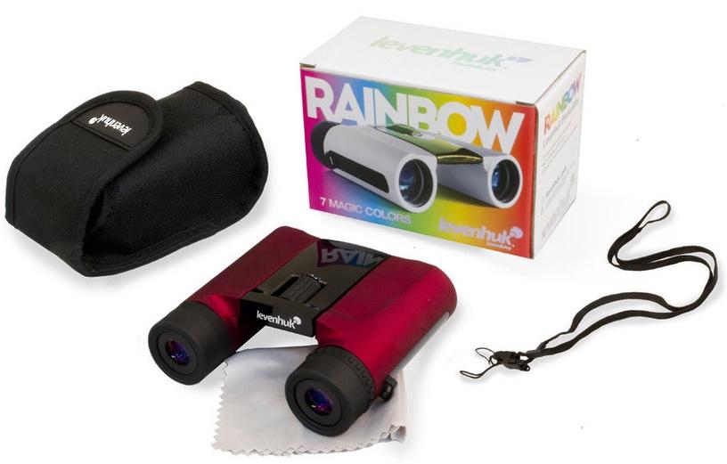 Levenhuk Rainbow 8x25 Red Berry Binoculars