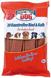 Perfecto Dog Chew Strips Beef 200g