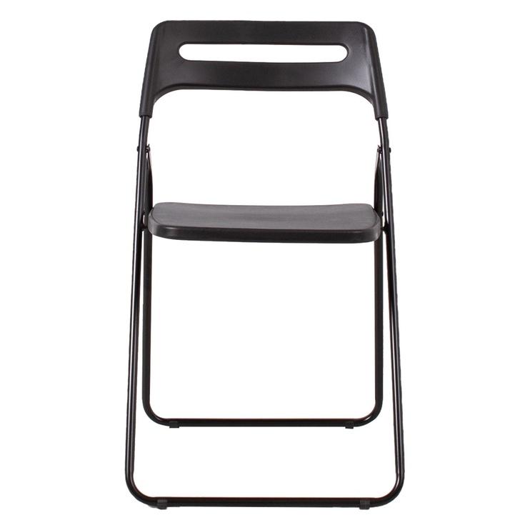 Home4you Piknik Folding Chair Black