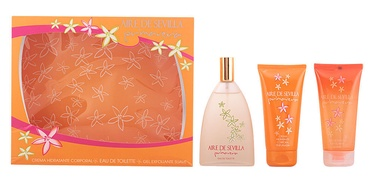 Instituto Español Aire De Sevilla Primavera 150ml EDT + 150ml Body Cream + 150ml Shower Gel