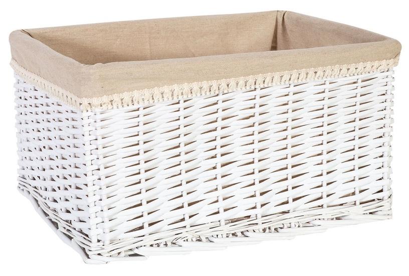 Home4you Max-2 Basket 52x37xH28cm White