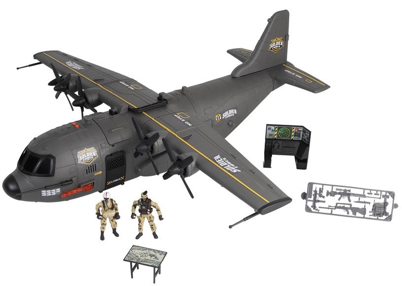 Žaislinė figūrėlė Chap Mei Soldier Force Hercules Cargo Plane Playset